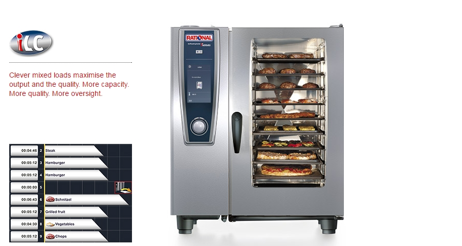 how to use a rational combi oven